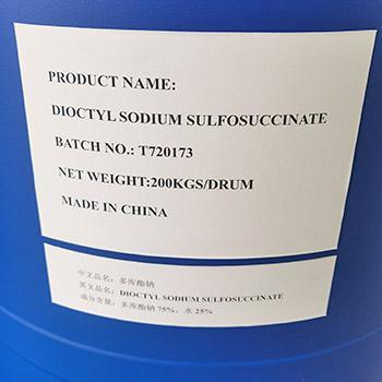 Sodium dioctyl sulfosuccinate
