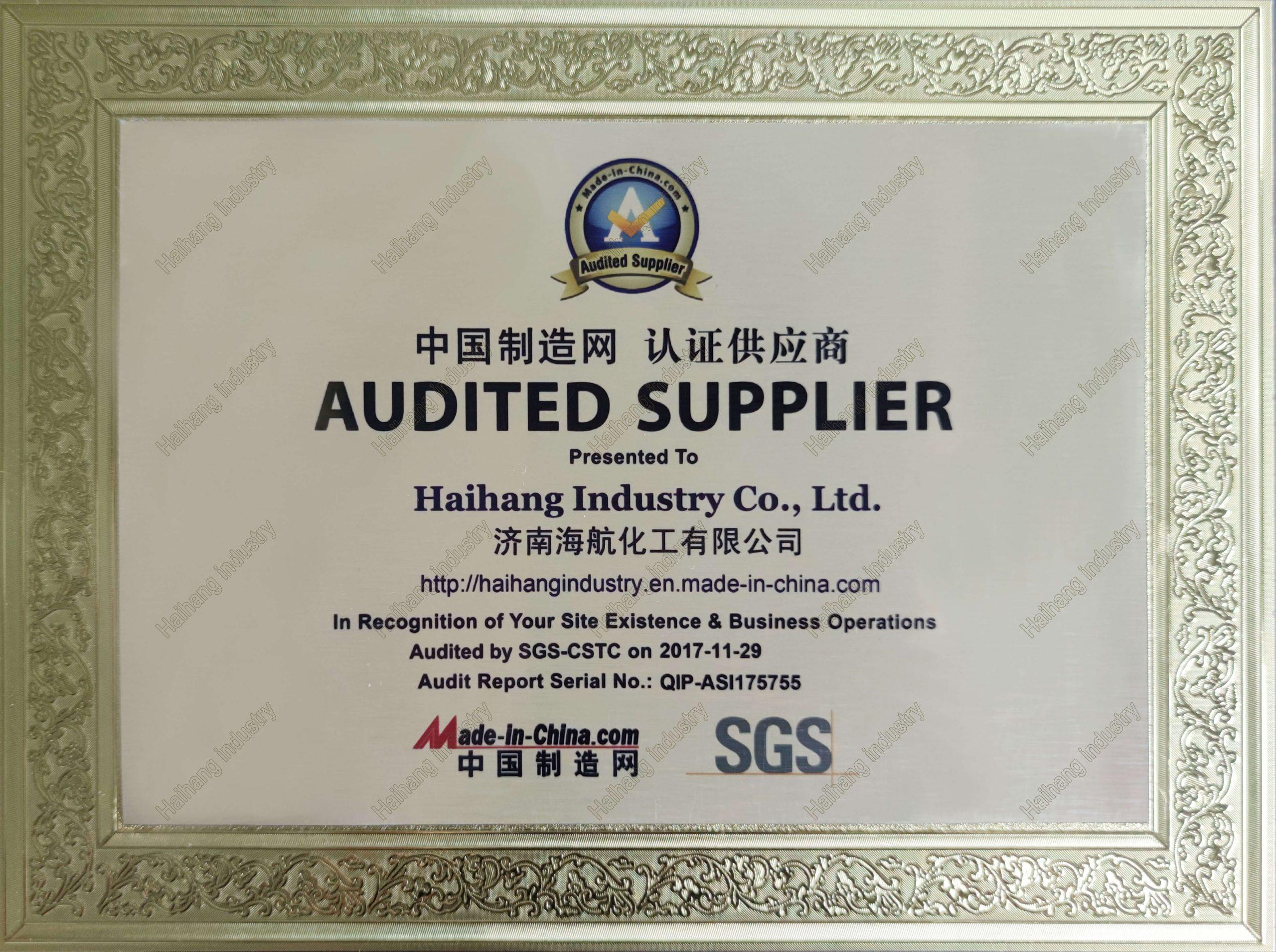 made-in-china.com audit supplier